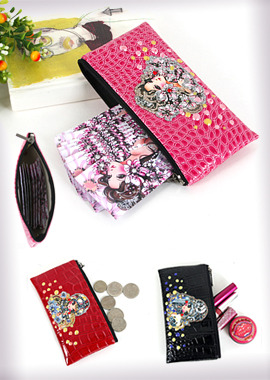 132-CWBusiness Card Wallet/Mini Pouc명함지갑/미니파우치