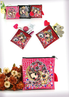 118-MPMini Pouch/Coin Purse사각 미니 파우치